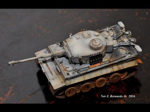 Tiger 1 Early Prod 1/72 Build (Banggood Series)
