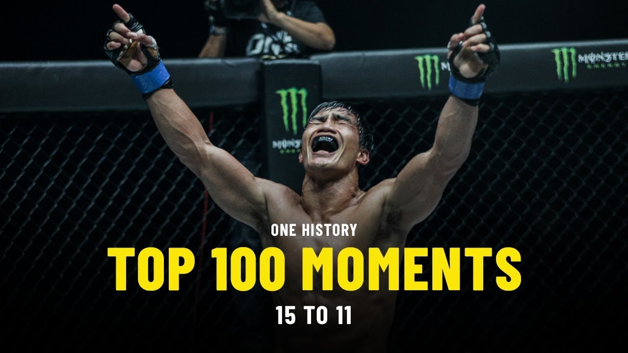 Top 100 Moments In ONE History | 15 To 11 | Ft. Eduard Folayang, Stamp Fairtex & More