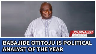 Babajide Otitoju is political analyst of the year