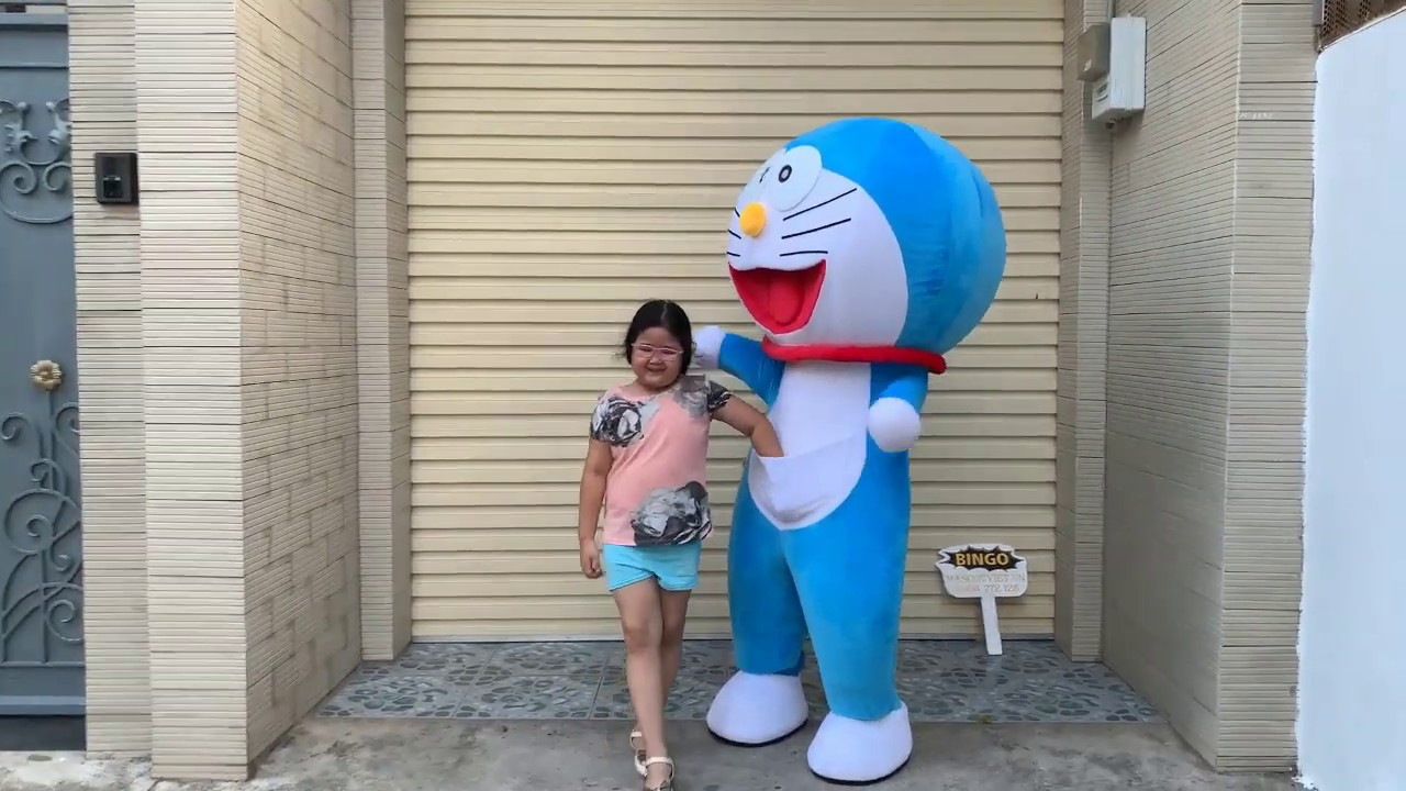 May mascot,cho thuê mascot  tpHCM - Mascot doraemon costumes