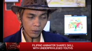 How Disney Animator Shares Skill With Pinoy Youths