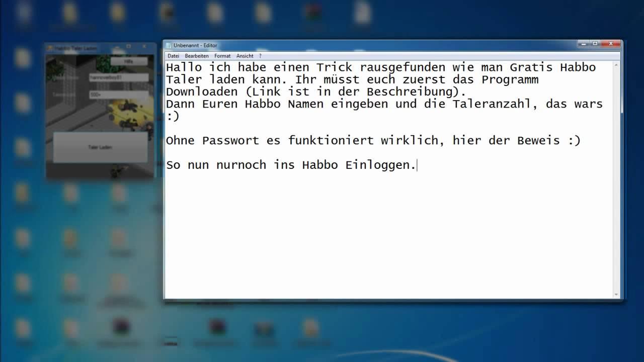 habbo taler hack programm