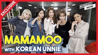 [Exclusive Interview] Mamamoo with Korean Unnie(마마무 독점 인터뷰)