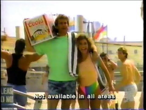 1989   Coors Party Ball   Have A Ball Commercial
