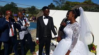 Sbonginkhosi and Atsinemalangeni wedding Eswatini 30/11/18