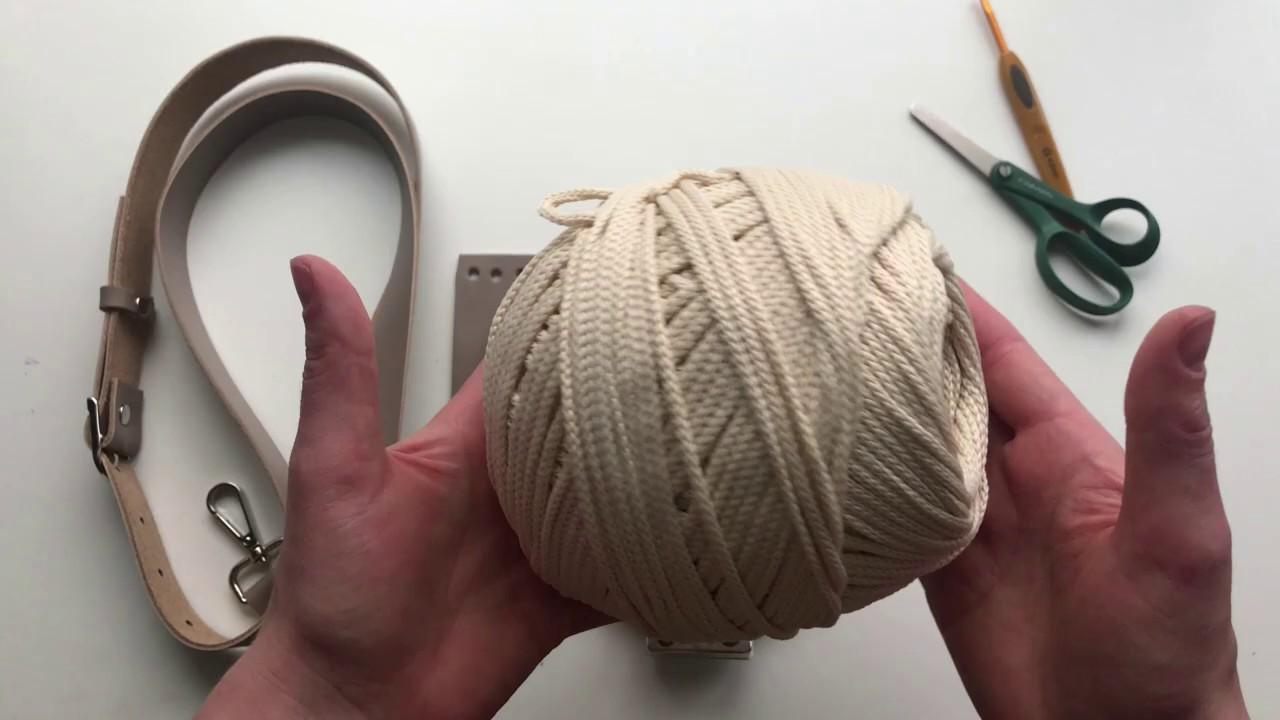 Как связать сумку кроссбоди ( Crossbody Bag )