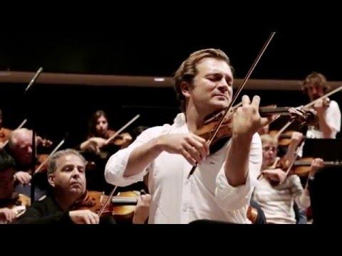 Renaud Capuçon records Lalo Symphonie Espagnole at the Philharmonie de Paris