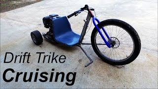 Drift Trike Seat, Pegs, and Cruising