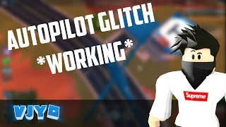 ROBLOX JAILBREAK AUTOPILOT GLITCH! (SORRY FOR LAGGY VIDEO)
