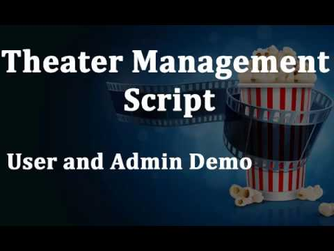 Theater management software - Theater Management Script -  Theater Booking Script