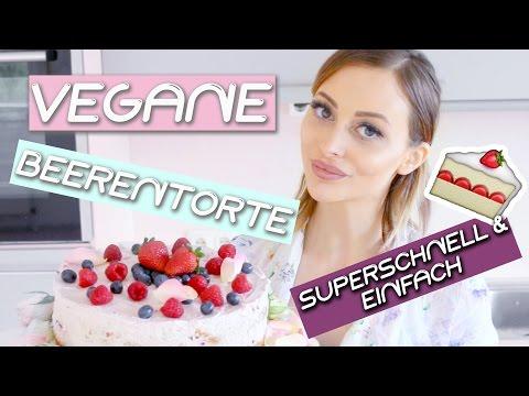 Vegane und leckere Beerentorte I Food DIY