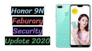 Honor 9N Feburary Security Update 2020 | CVE-2020-0022 AKA BlueFrag Fixed | The Tech Bite