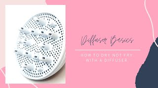How to Diffuse Your Hair, Different Ways to Diffuse, and How to Diffuse Without A Diffuser
