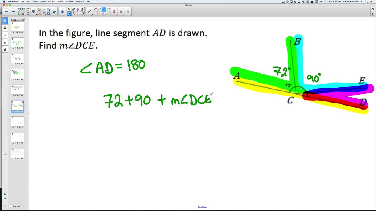 Solving for Unknown Angles - Geometry Module 6(EngageNY)