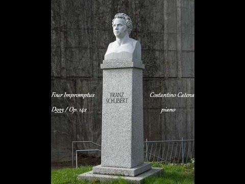 SCHUBERT - 4 Impromptus D935/Op. 142 - Costantino Catena, piano
