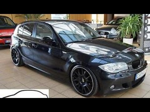 bmw 120 bmw 120d m paket bbs 19 leder sport xenon youtube. Black Bedroom Furniture Sets. Home Design Ideas