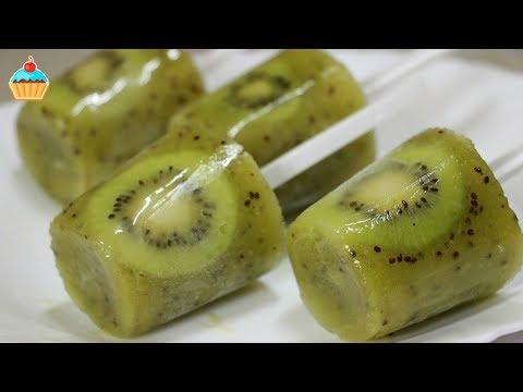 Творожный торт мандарин и киви