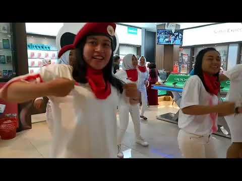 Flashmob Sumpah Pemuda Topsell Tulungagung