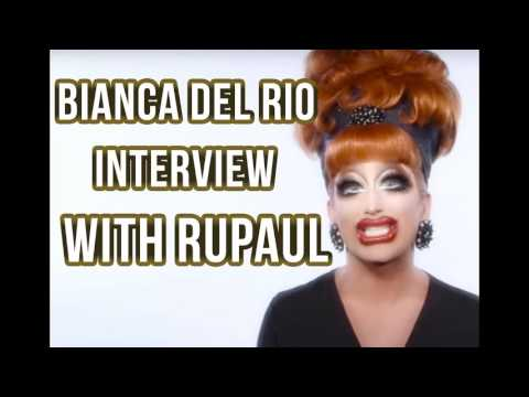 BIANCA DEL RIO INTERVIEW W RUPAUL
