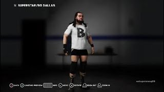 WWE 2K18 بو دالاس ب الفريق ليلة الاثنين الخام الملابس 2018