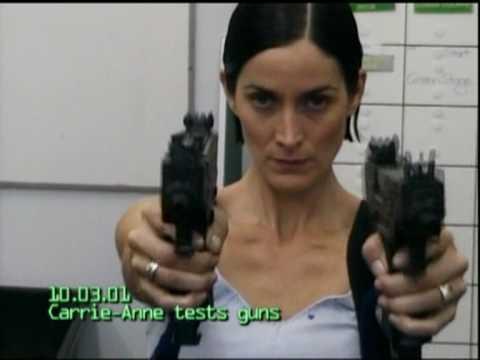 CarrieAnne Moss: Gun Test