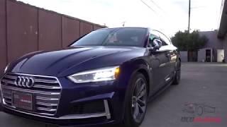 2018 Audi S5 Sportback - Navarra Blue - PPF Front End and CQuartz Finest Reserve