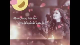 Main saans leti hu ll lyrics ll  female version ll whatsapp status ll