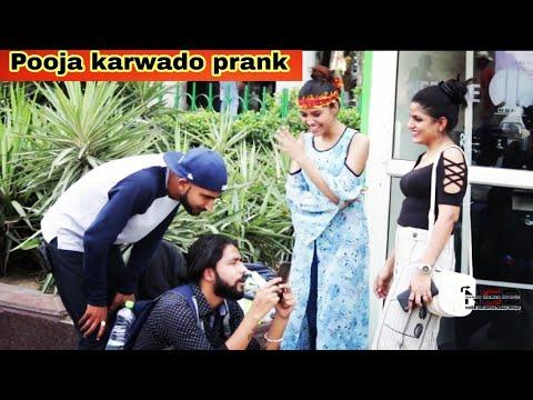 Tujh Me Rab Dikhta Hai    Worshipping Cute Girls Prank    NSB