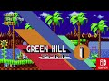 Sonic Mania PS4 Vs Switch Loading Menus Intro Greenhill Special Stage mp3