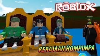 HOMPIMPA TIENE UN KINGDOM-Roblox Indonesia: Construye un barco