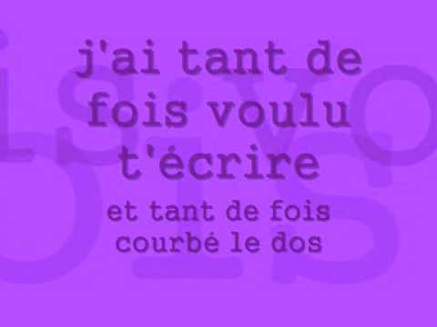 Isabelle Boulay Parle Moi Paroleslyrics