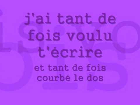 isabelle boulay - parle moi - paroleslyrics