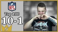 DIE 10 BESTEN NFL SPIELER | Top 100 Reaktion