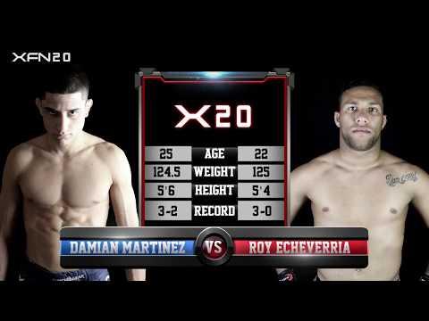 XFN 20: Damien Martinez vs Roy Echeverria