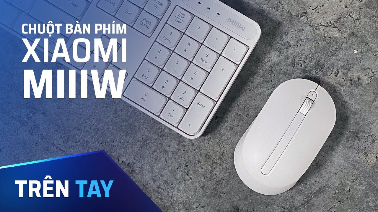 Bộ bàn phím kèm chuột không dây chỉ 400k!