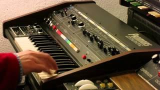 Roland Promars Compuphonic MRS-2 synthesizer - HD demo