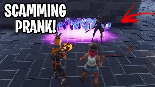 We took his WHOLE inventory! 🤫 (INSANE PRANK!) Fortnite Save The World