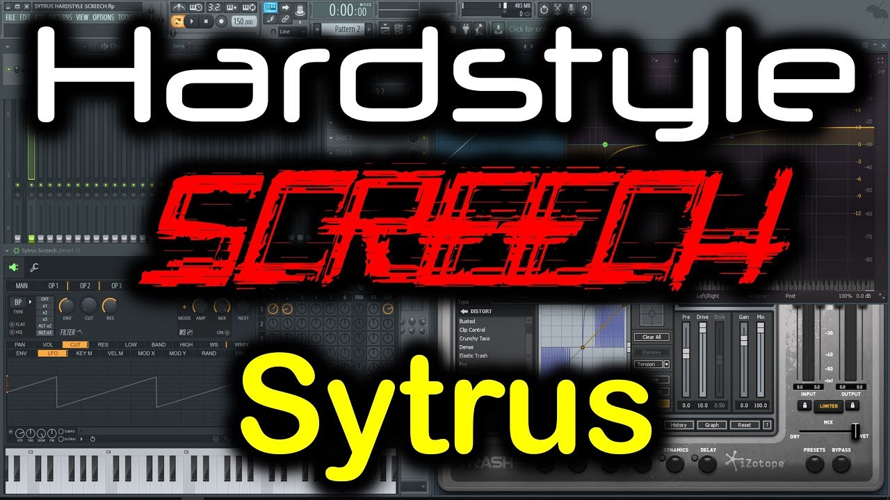 SYTRUS HARDSTYLE SCREECH | How to Make Hardstyle Screech