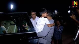 SHILPA SHETTY RAJ KUNDRA WITH KIDS AND SANJAY DUTT KIDS SPOTTED AT PVR JUHU