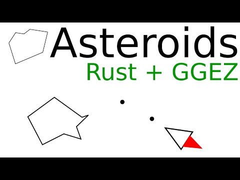 Asteroids part 13 - It worked first try!? (kind of)