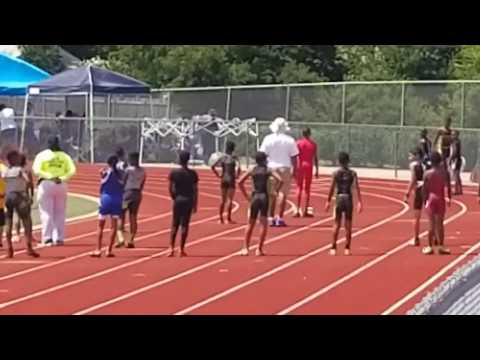10u Boys 200meters AAU Qualifying meet