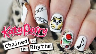 Katy Perry ft. Skip Marley - CHAINED TO THE RHYTHM NAIL ART | Nailed It NZ