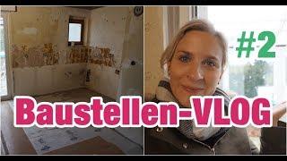 Baustellen-VLOG #2 / Unser Eigenheim / Food Haul & Neue Fenster im Wintergarten | Lisi Schnisi