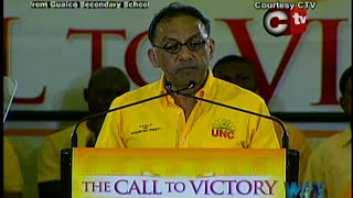 United National Congress (UNC) Monday Night Forum - Monday 4th May 2015