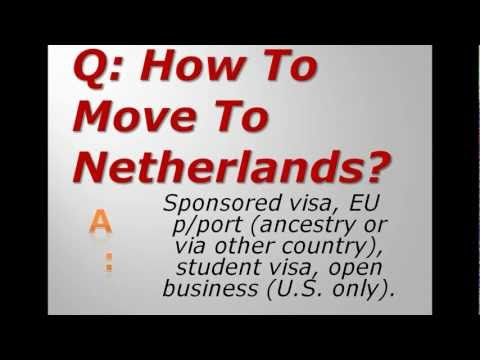 How To Move To Netherlands?