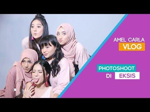 AMEL CARLA - PHOTOSHOOT DI EKSIS!! #VLOG