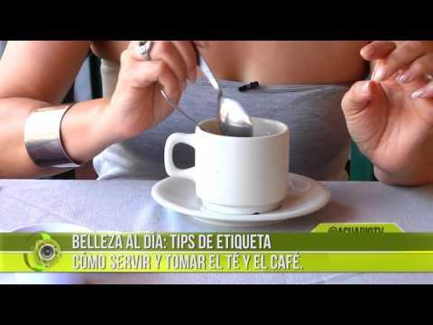 Belleza al Día: Tips de etiqueta Cómo servir y tomar el té y el café.
