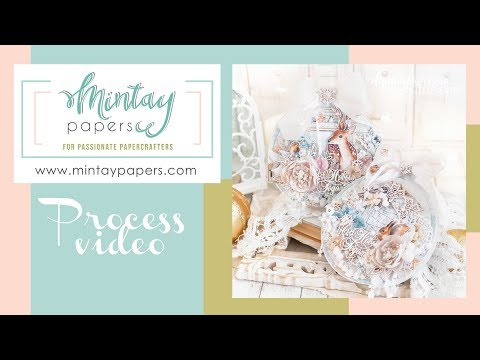 Christmas Cards For Mintay Papers. TUTORIAL | Новогодние открытки для Mintay Papers
