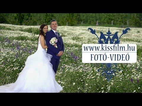 Anikó és Norbert esküvője a Fenyves Hotelban, Baktalórántháza KISSFILM.HU