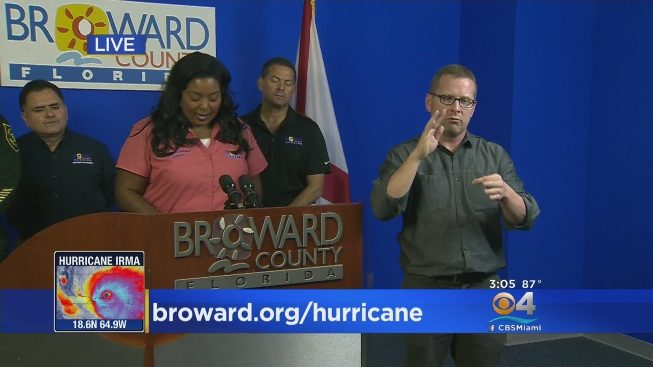 Broward County Shelters That Will Open Thursday